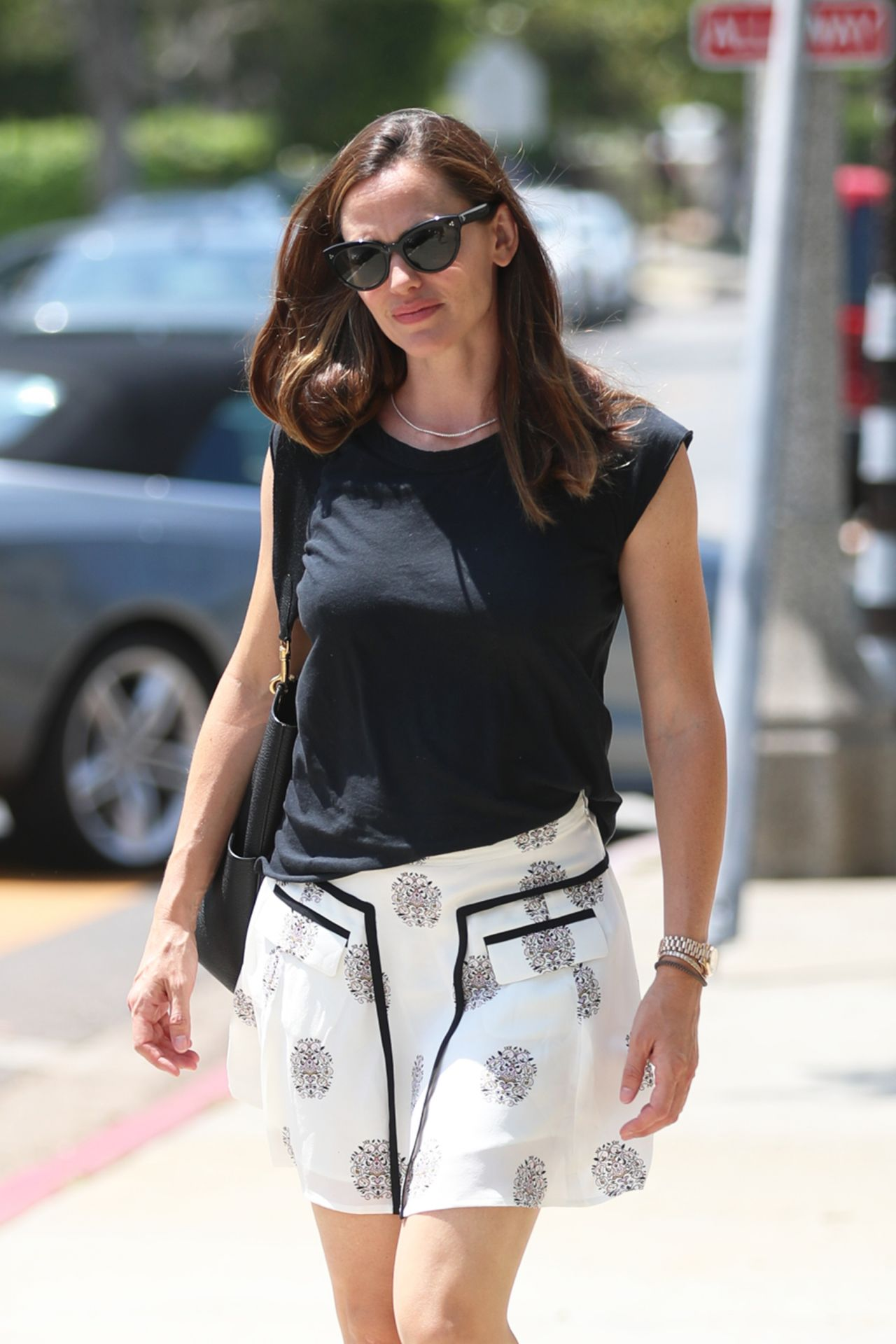 Jennifer Garner Leaving Church In Los Angeles 07 09 2017