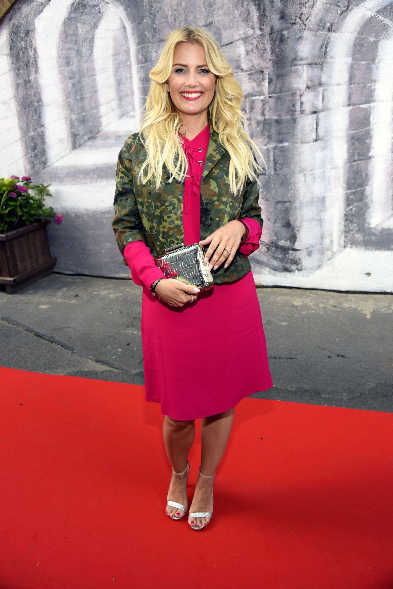 Jennifer knable at riani show mercedes benz fashion week berlin