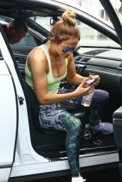 Jennifer Lopez - Goes to the Gym in Miami 07/24/2017