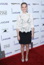 "Jess Weixler – Amazon Studios' ""Landline"" Premiere in Hollywood 07/12/2017"