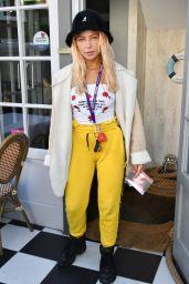 Jess Woodley – egaliTEE Launch in London 07/25/2017
