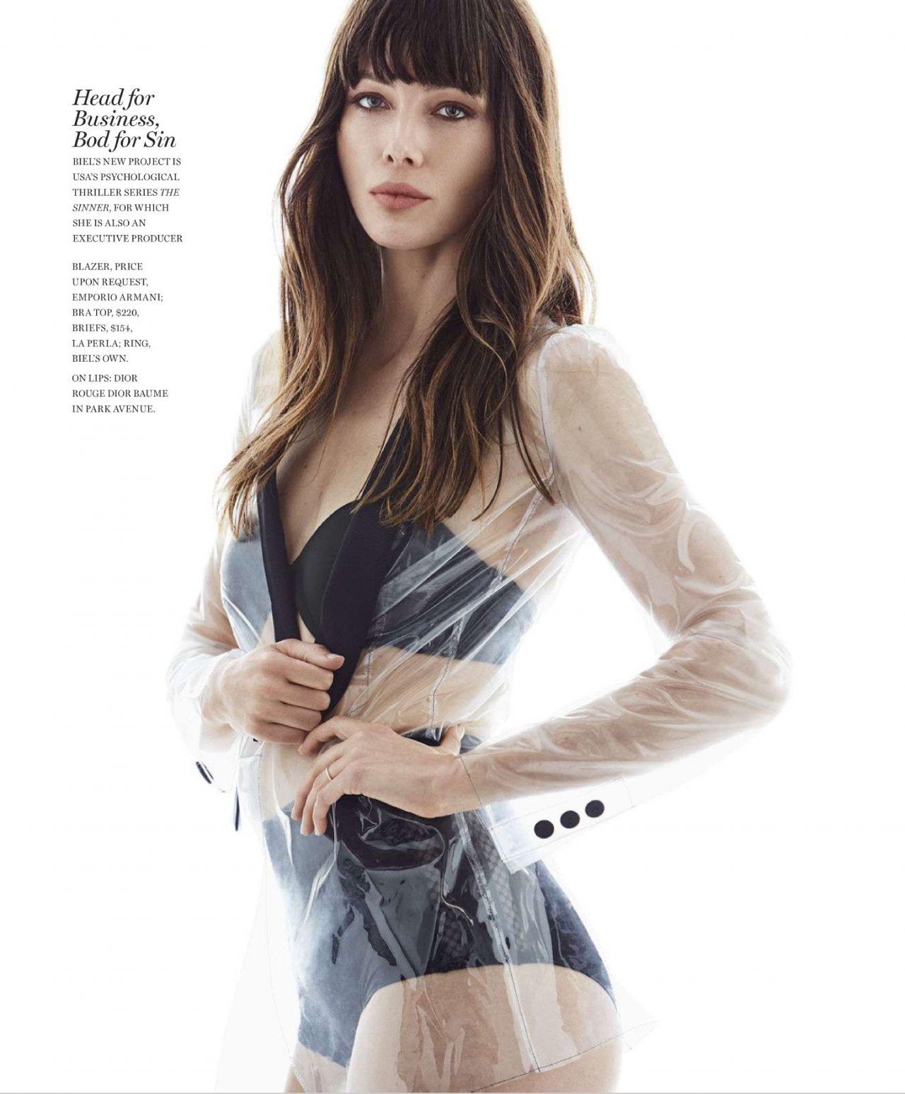 Jessica Biel - Marie Claire Magazine US August 2017 Issue