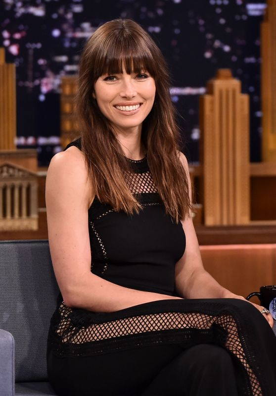 Jessica Biel - The Tonight Show Starring Jimmy Fallon in NYC 07/25/2017