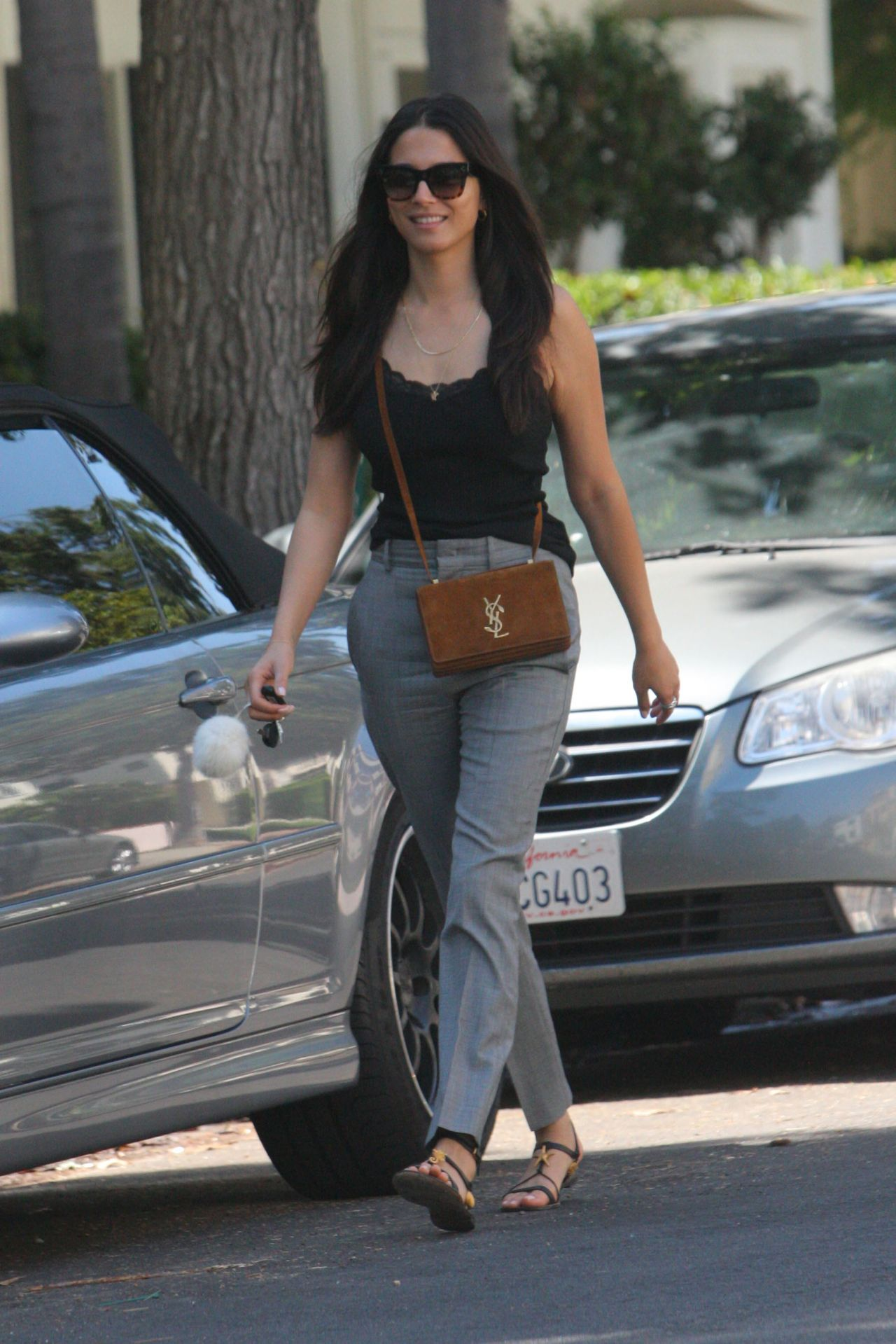 Jessica gomes in casual attire west hollywood