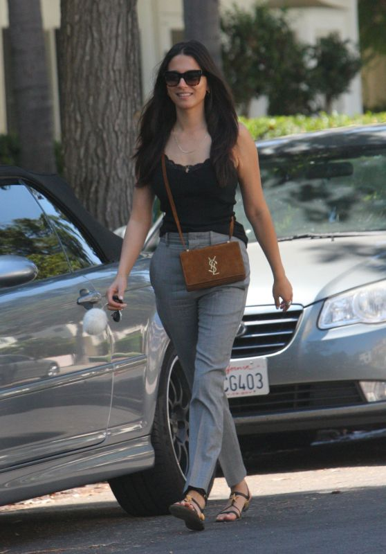 Jessica Gomes in Casual Attire - West Hollywood 07/10/2017