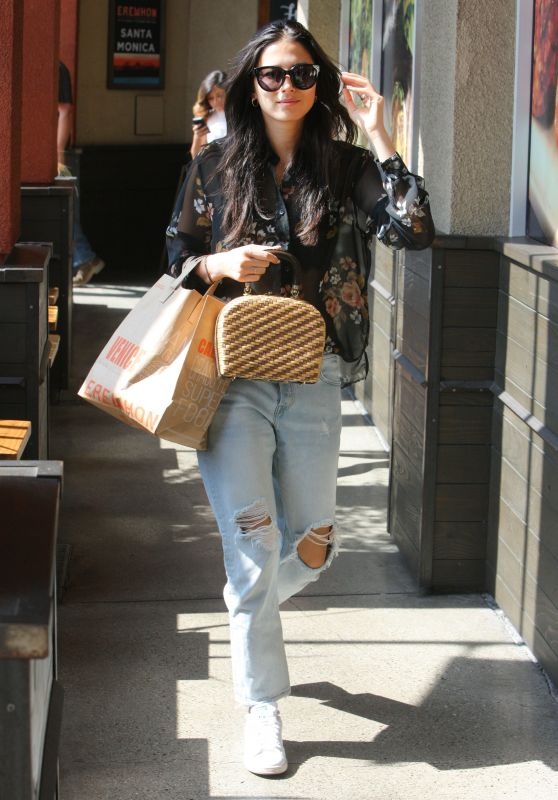 Jessica Gomes - Shopping in Beverly Hills 07/14/2017