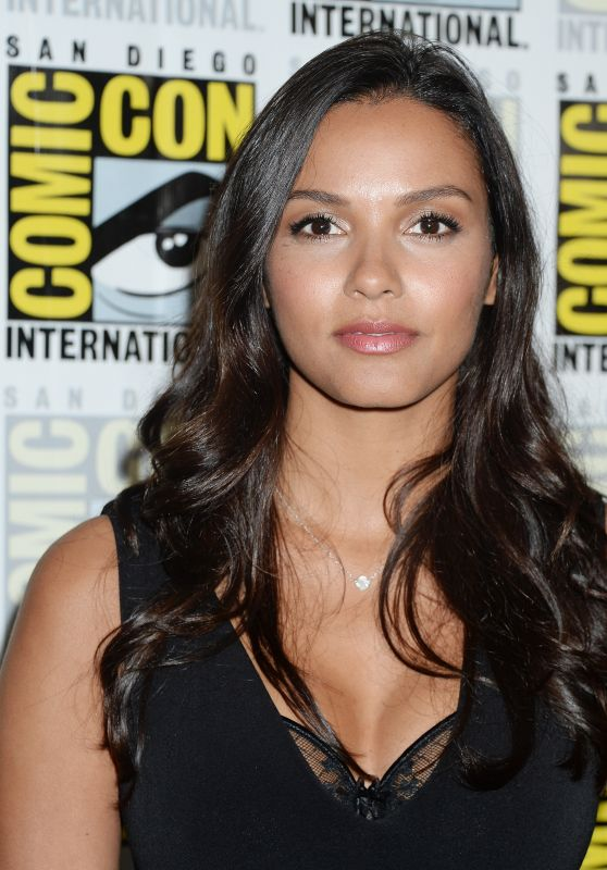 "Jessica Lucas – ""Gotham"" Presentation at Comic-Con in San Diego 07/22/2017"