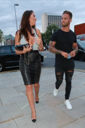Jessica Shears - Arriving at Menagerie Restaurant in Manchester 07/13/2017