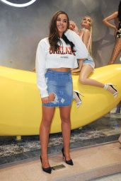 Jessica Shears at Missguided Store in Bluewater Shopping Centre, Kent, England 07/15/2017
