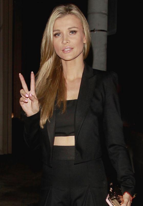 Joanna Krupa Night Out Style - Catch LA 07/01/2017