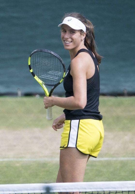 Johanna Konta - Practice Session at Wimbledon Championships 07/09/2017