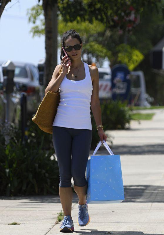 Jordana Brewster - Shopping in Los Angeles 07/08/2017