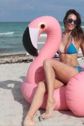 Julia Pereira Bikini Photoshoot - Miami Beach 07/14/2017