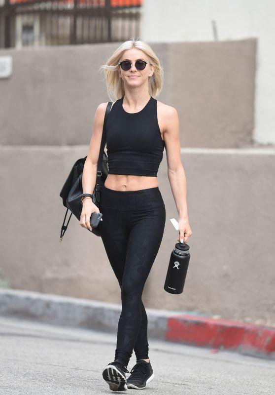 Julianne Hough in Workout Gear - Hits the Gym in LA 07/03/2017