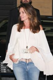 Kaia Gerber and Cindy Crawford at Nobu in Malibu 07/15/2017