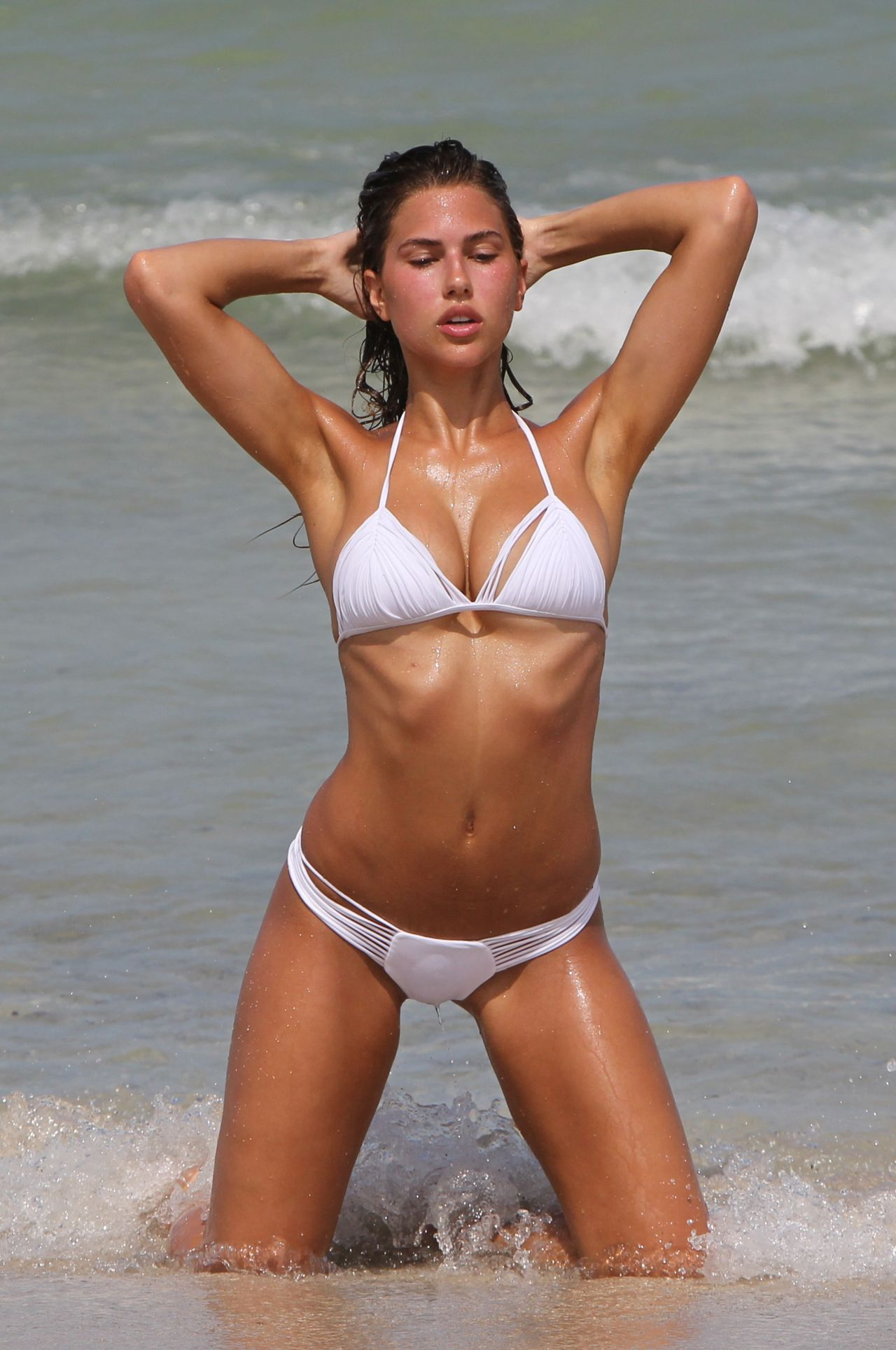 Kara Del Toro Bikini Photoshoot - Miami Beach 07242017-1871