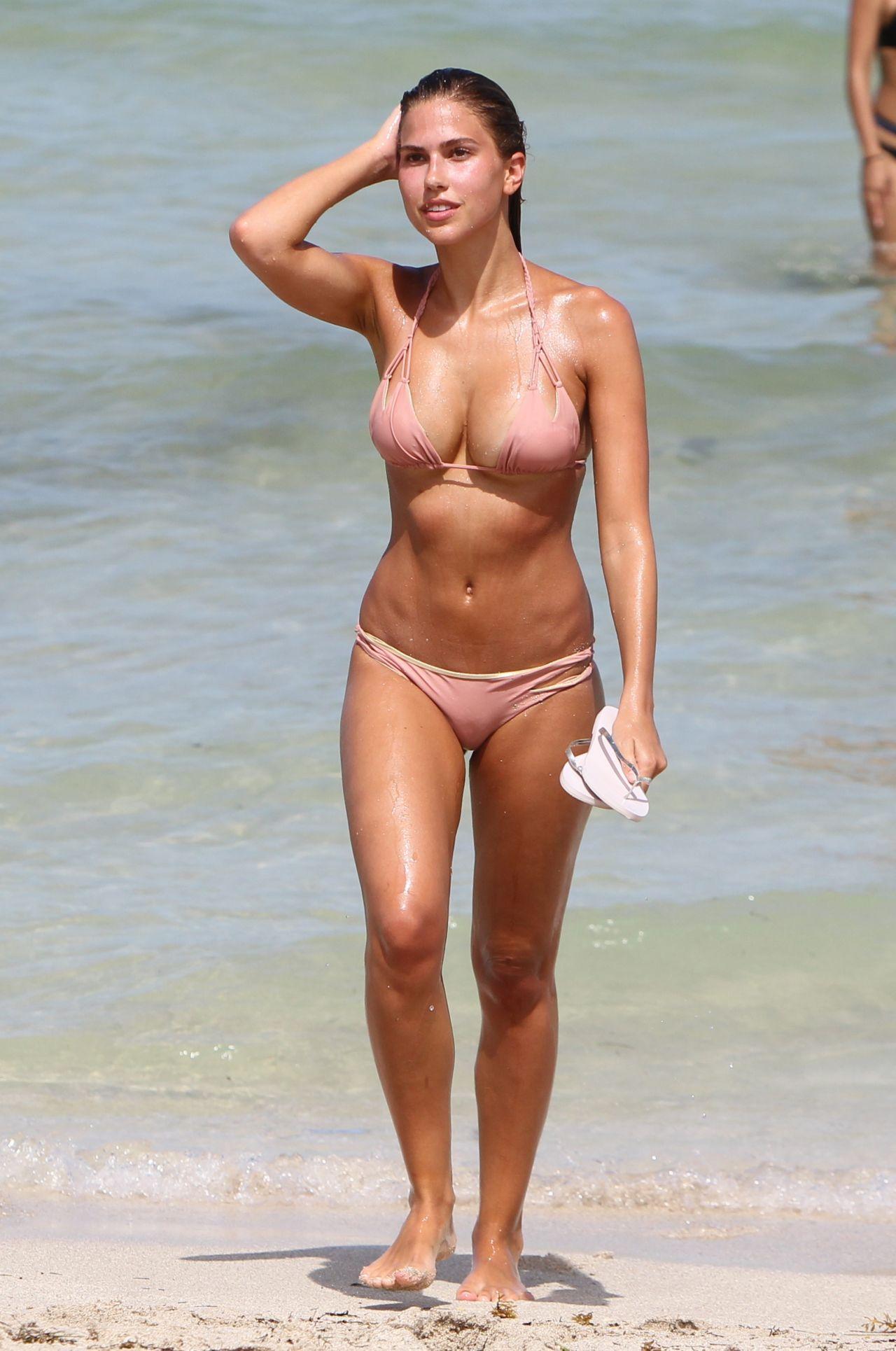 Kara Del Toro Bikini Photoshoot - Miami Beach 07242017-1326