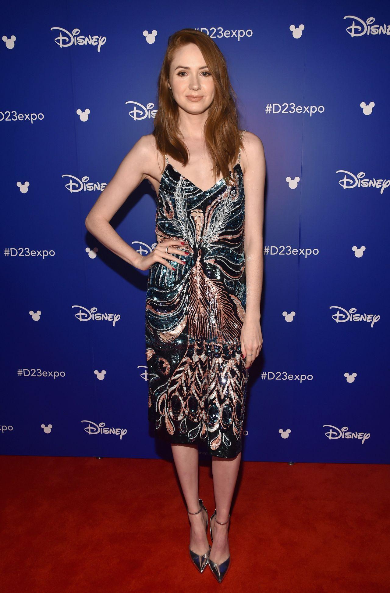 Karen Gillan – Disney's D23 EXPO 2017 in Anaheim 07/15/2017