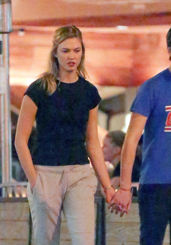 Karlie Kloss - Out For a Romantic Walk in Soho in NYC 07/23/2017