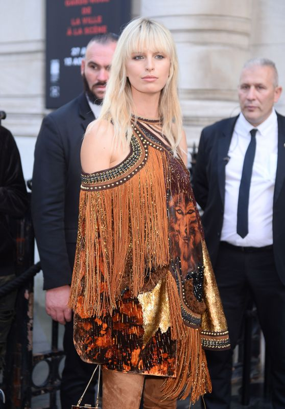 Karolina Kurkova – Vogue Party at Paris Fashion Week 07/04/2017