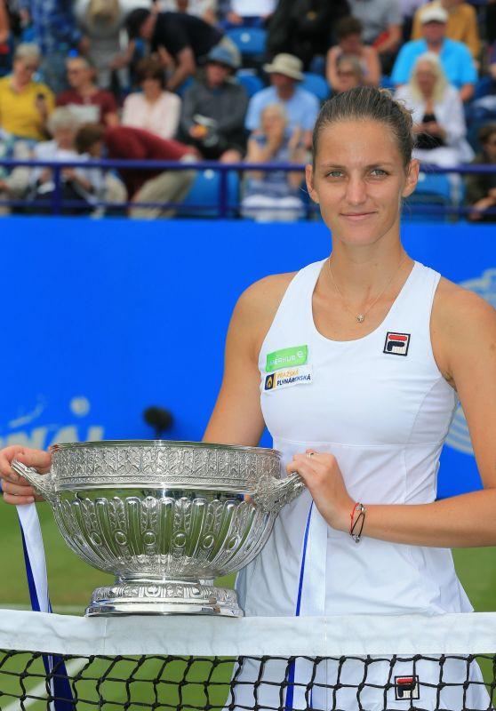 Karolina Pliskova - Wins AEGON International Tennis in Eastbourne 06/30/2017