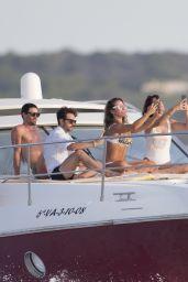 Kate del Castillo and Monica Estarreado - On a Luxury Yacht in Ibiza 07/26/2017