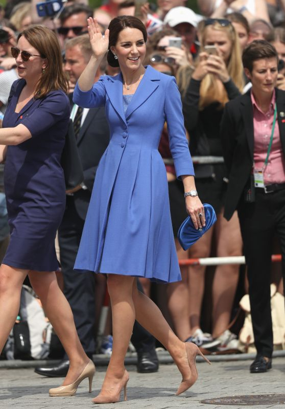 Kate Middleton -  Brandenburg Gate in Berlin 07/19/2017