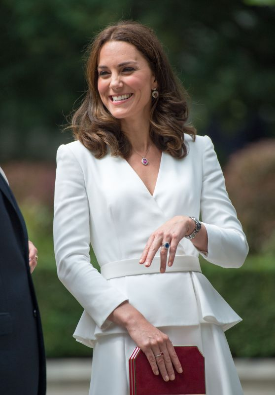 Kate Middleton is Looking All Stylish - Visit the Warsaw Rising Museum 07/17/ 2017
