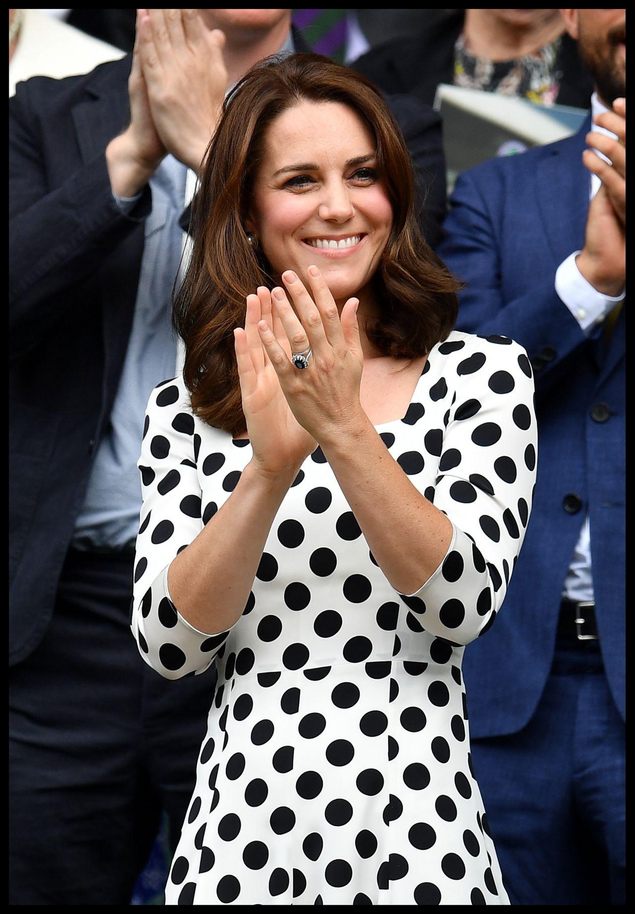 Kate Middleton Wimbledon Tennis Championships In London