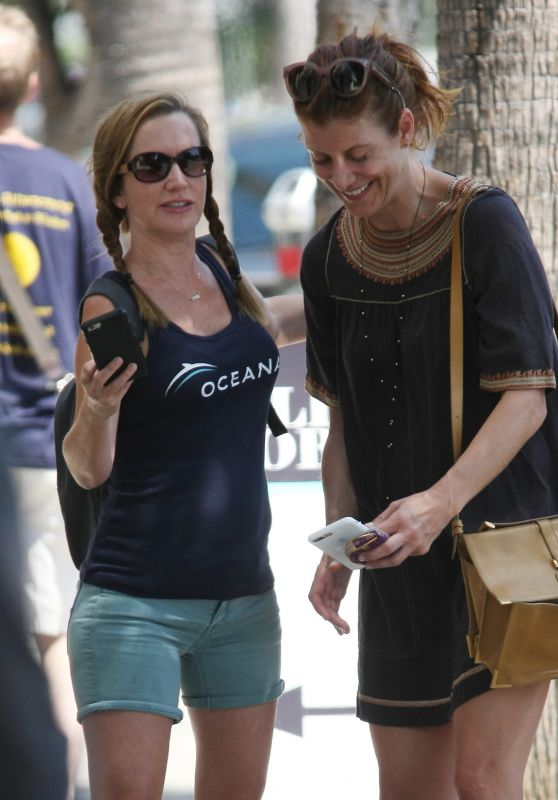 Kate Walsh and Angela Kinsey - Out in Studio City 07/19/2017