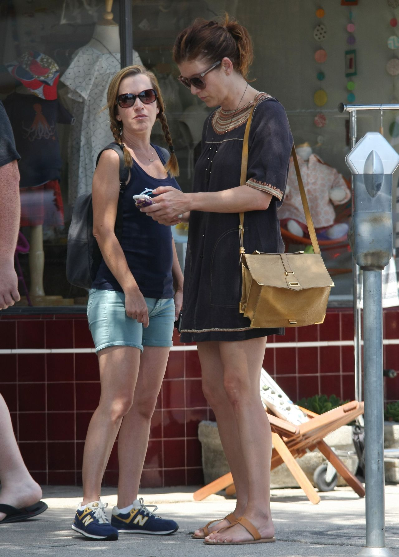 Kate Walsh And Angela Kinsey Out In Studio City 07 19 2017