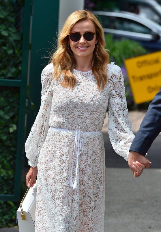 Katherine Jenkins - Arriving at Wimbledon 07/14/2017