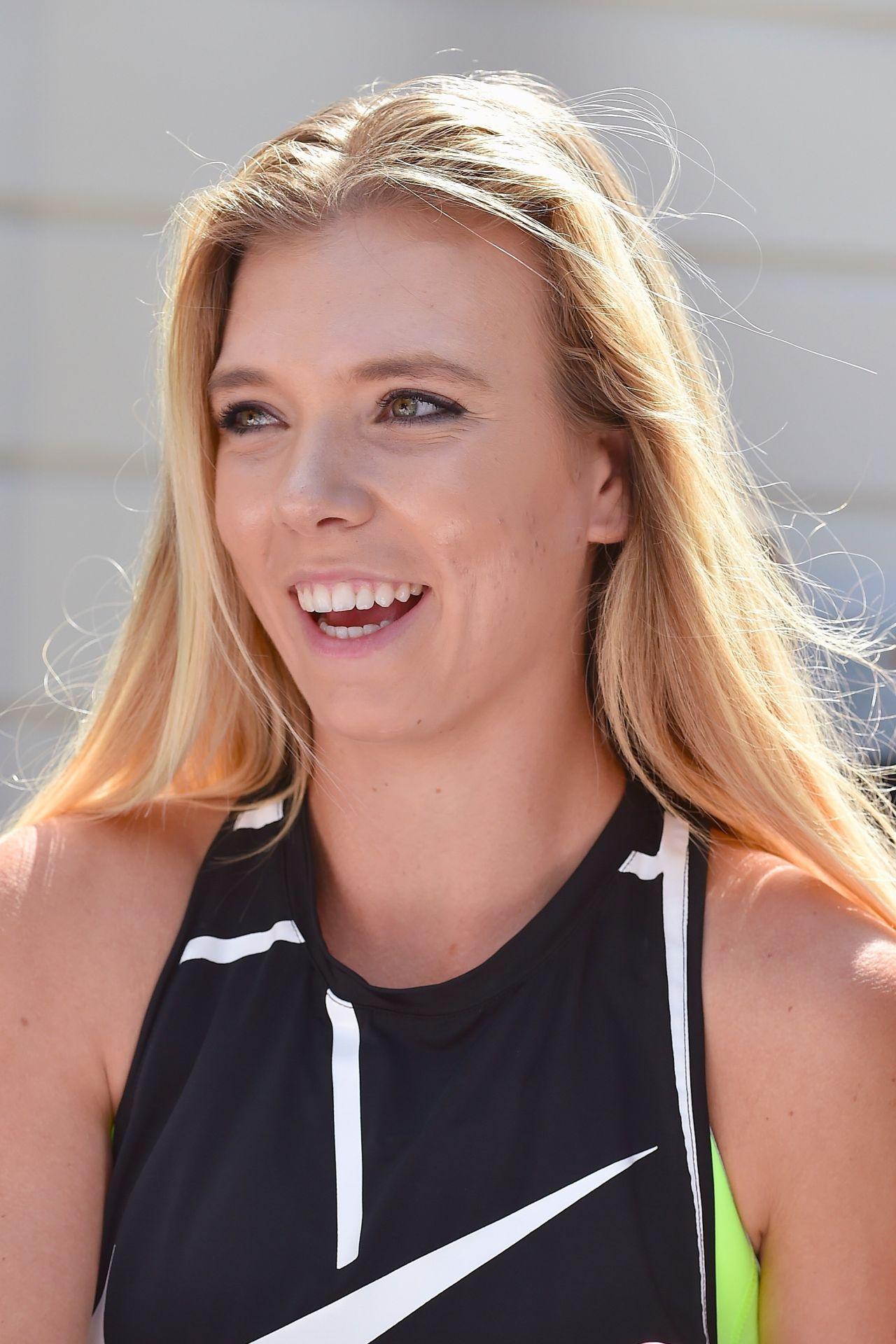 Katie Boulter - Wimbledon Tennis Championships, London 07 ...