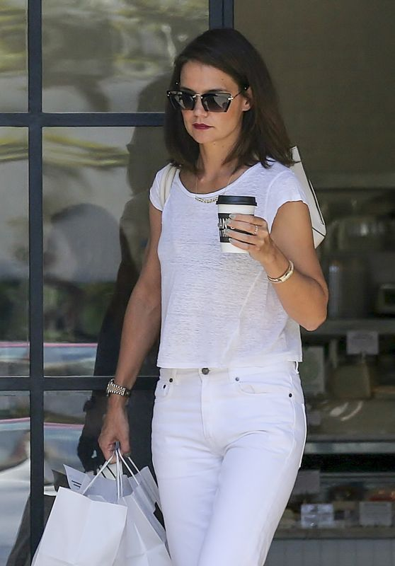 Katie Holmes - Out in Los Angeles 07/25/2017