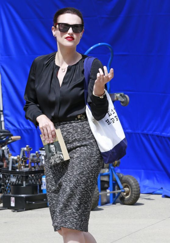Katie McGrath - Out in Vancouver, Canada 07/17/2017