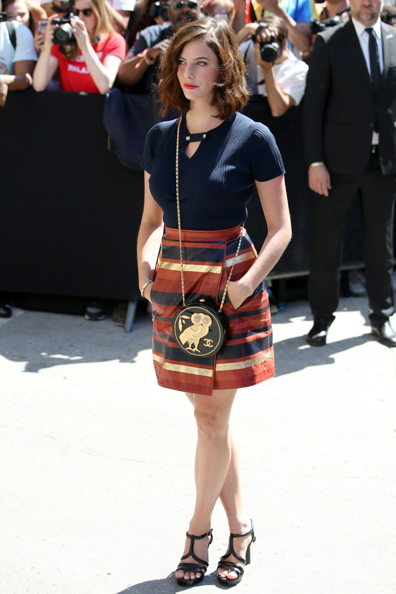 Kaya Scodelario – Chanel Show at Haute Couture Paris ...