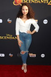 "Kayla Maisonet – Disney's ""Descendants 2"" Premiere in Los Angeles 07/11/2017"