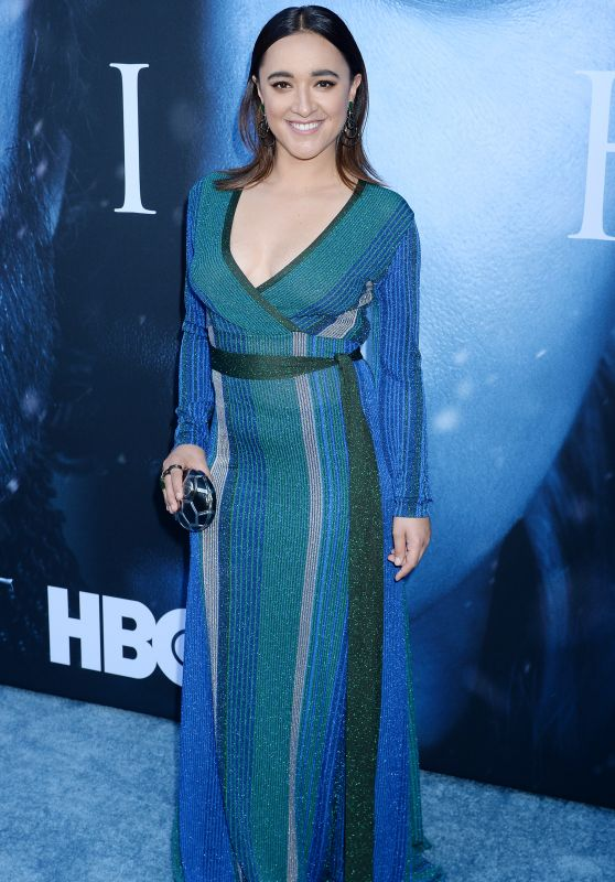 "Keisha Castle-Hughes – ""Game Of Thrones"" Season 7 Premiere in Los Angeles 07/12/2017"