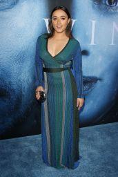 """Keisha Castle-Hughes – """"Game Of Thrones"""" Season 7 Premiere in Los Angeles 07/12/2017"""