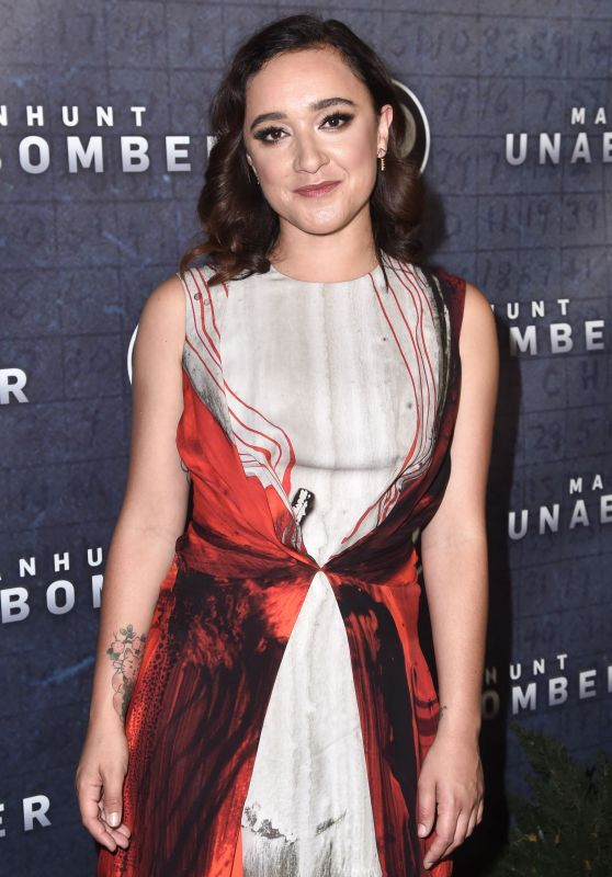 "Keisha Castle-Hughes – ""Manhunt: Unabomber"" TV Show Premiere in New York 07/19/2017"