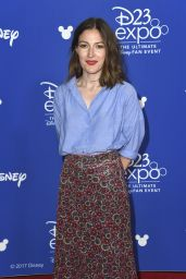 Kelly Macdonald – D23 Expo 2017 in Anaheim 07/14/2017