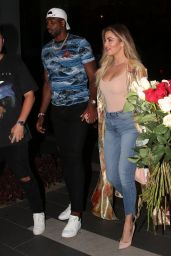 Khloe Kardashian and Tristan Thompson - Boa Restaurant in Hollywood 07/14/2017