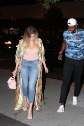 Khloe Kardashian and Tristan Thompson - Boa Restaurant in Hollywood 07/14/2017