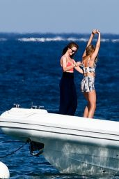 Kimberley Garner - On a Speedboat in St Tropez 07/12/2017