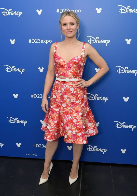 Kristen Bell – Disney's D23 EXPO 2017 in Anaheim 07/15/2017