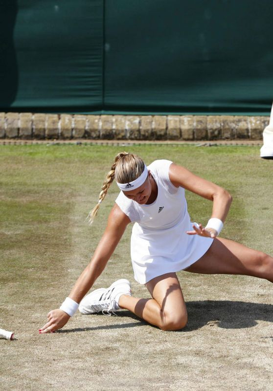 Kristina Mladenovic – Wimbledon Championships in London 07/06/2017