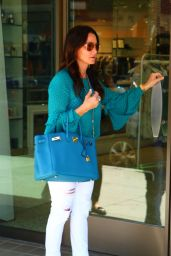 Kyle Richards Casual Style - Los Angeles 07/27/2017