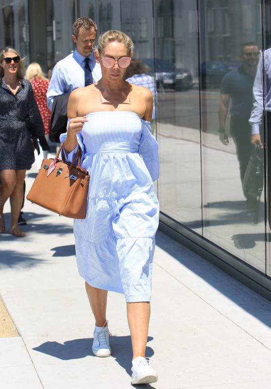 Kym Johnson - Shopping in Beverly Hills 07/14/2017