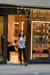 Kym Marsh  - Leaves Evelyn Hair and Beauty Salon in Manchester 07/21/2017