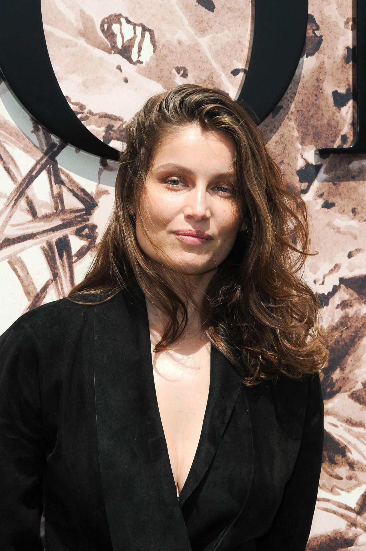 Laetitia Casta At Christian Dior Show Fall Winter 2017